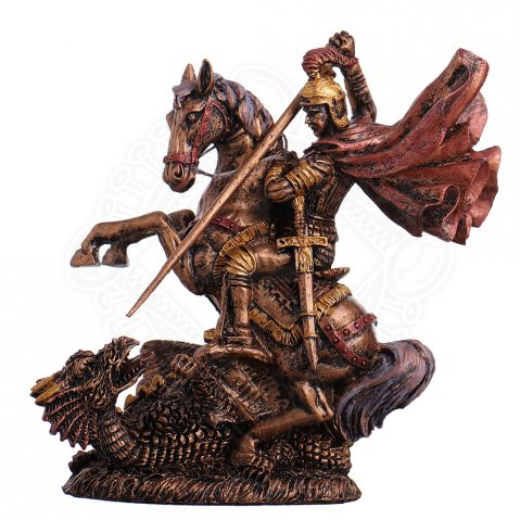 St. George kills the dragon Figure 11cm