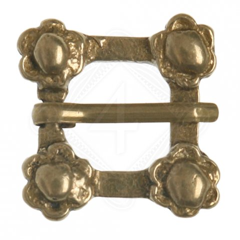 Small flowered buckle (1 pc)