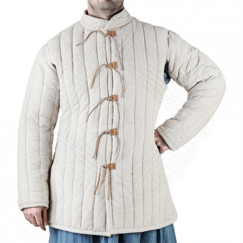 Thickly padded Gambeson