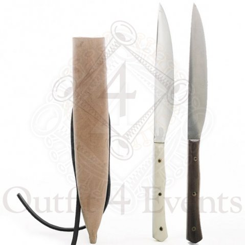 Utility knife replica with sheat from 15.- 16. century, SALE