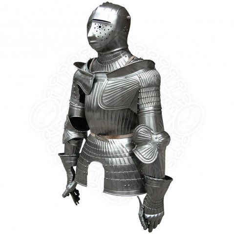 Maxmillian armor with armet