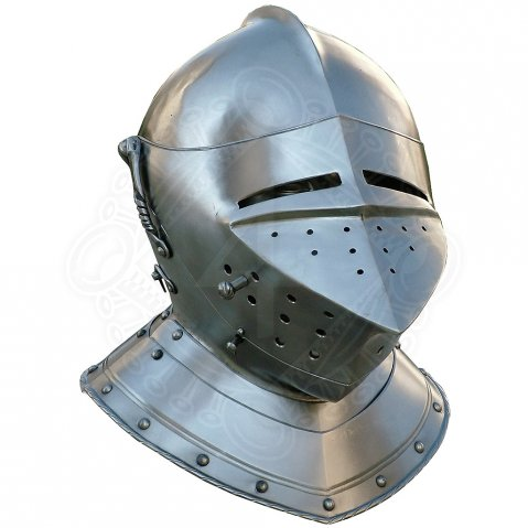 Armet helm with gorget about 1570