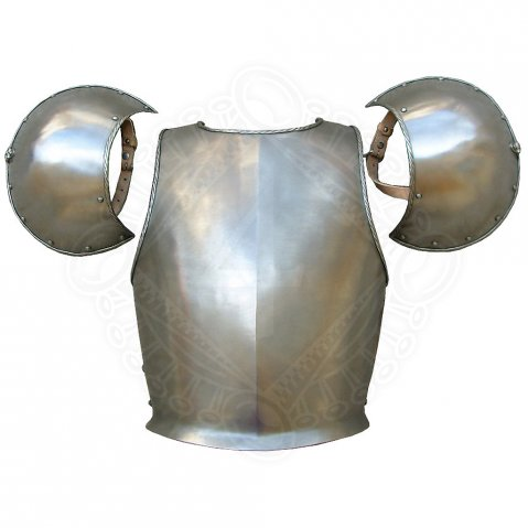 Iron Breast Plate & Pauldrons