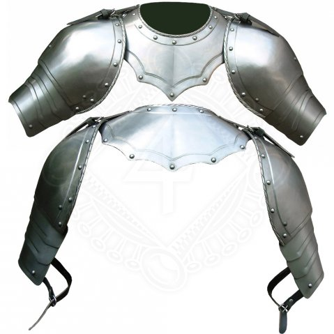 Gorget with pauldrons