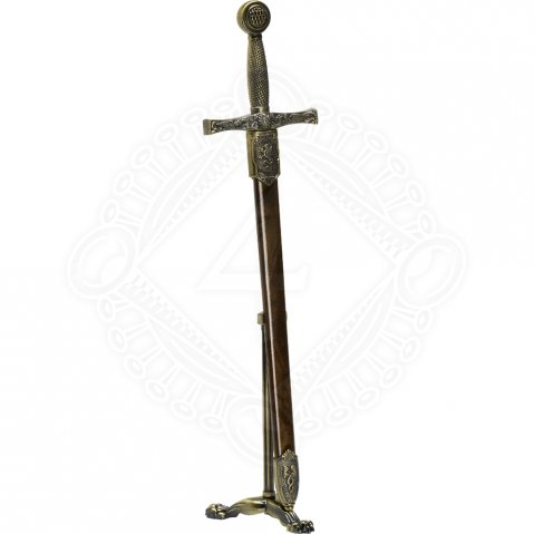 Miniature decorative Sword with stand