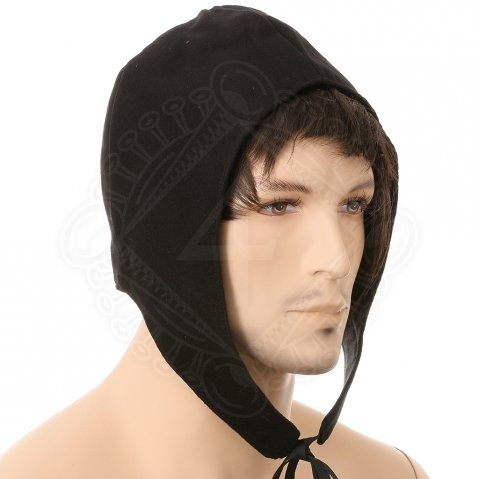 Quilted textile hood