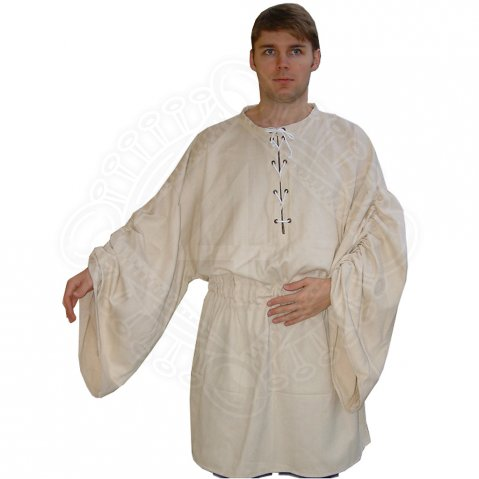 Medieval shirt with lacing - Camisia