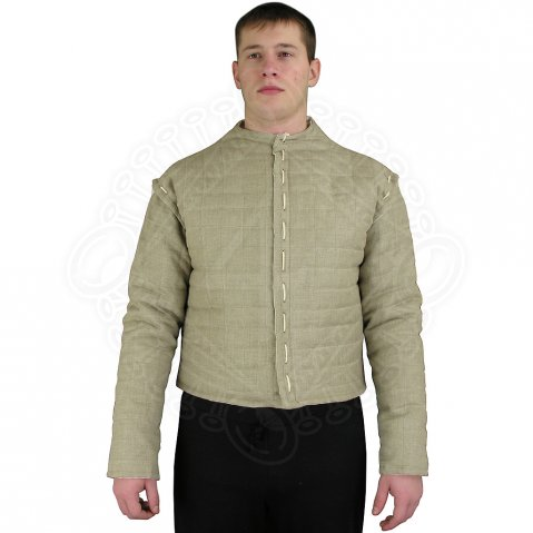 Living History Gambeson from raw linen