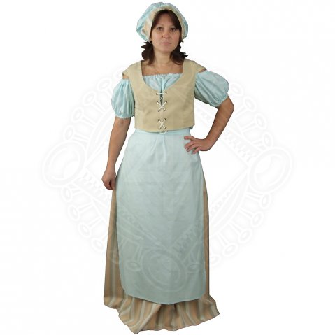 Medieval countrywoman costume
