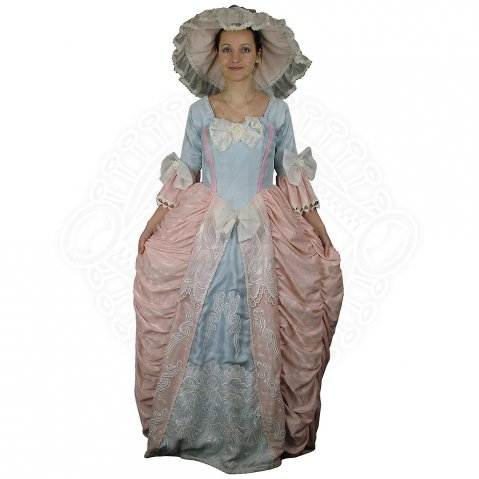 Rococo style dress