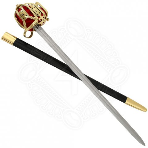 Brass Basket Hilt Claymore - sale