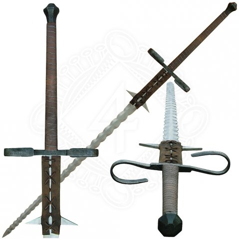 Gothic two hand sword Anicetus