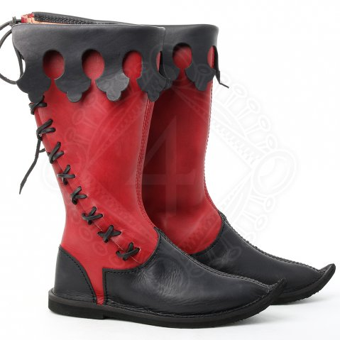 Gothic high boots Commandant