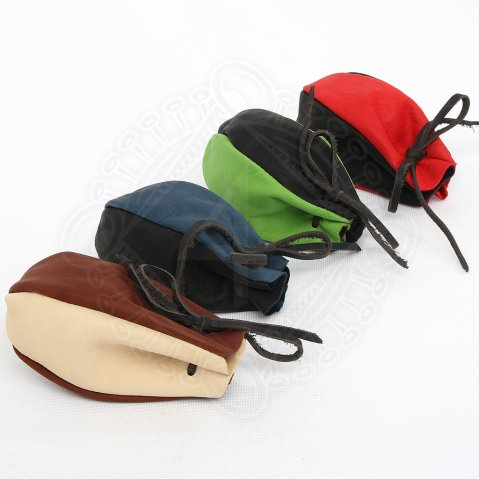 Leather pouch 11cm
