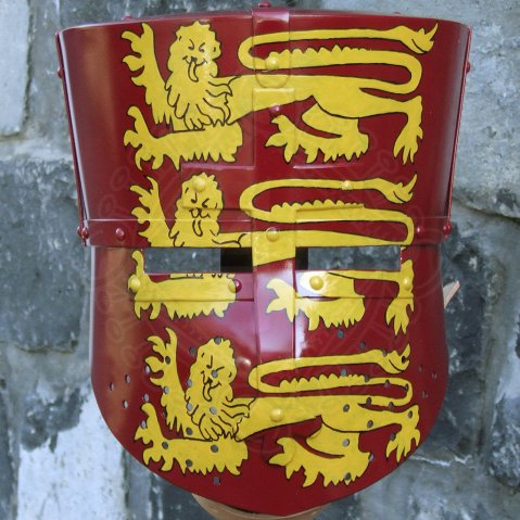 Great helm Richard the Lionheart