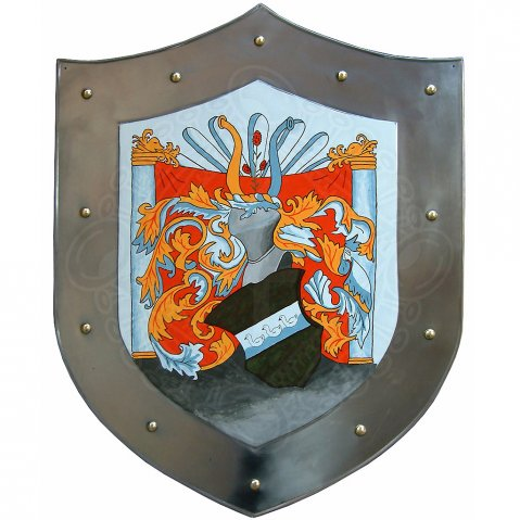 Shield with coat of arms - customized pattern