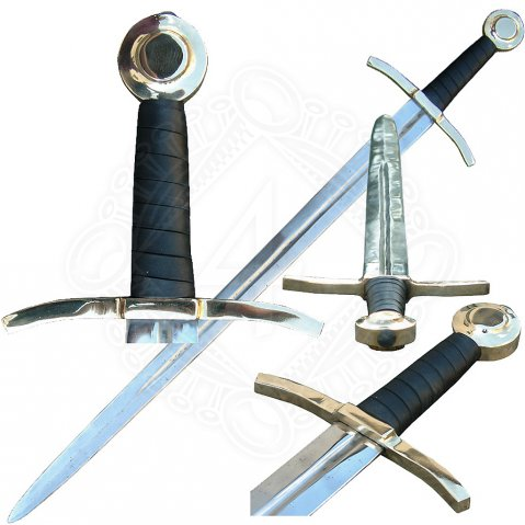 Sword Rolf with brass pommel and guard, class B
