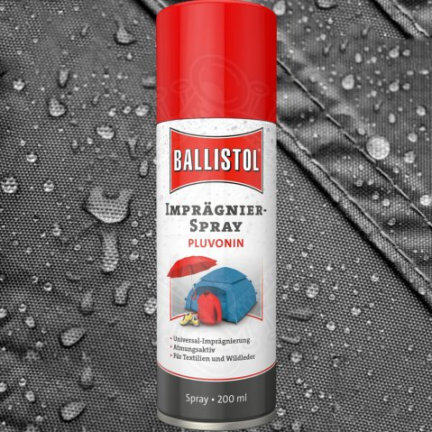 Textile Impregnation Ballistol Pluvonin 200ml Spray