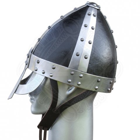 Norman helmet with ocular-nasal