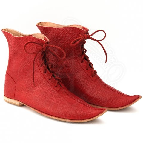 "Late medieval shoes ""Dandy from the Court"""