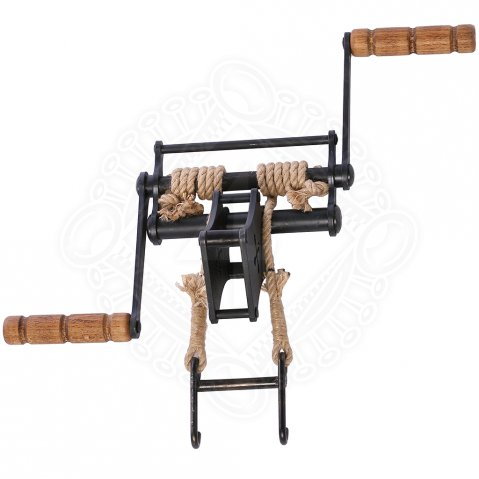 Pulley Windlass to medieval crossbows