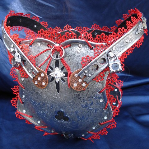 Luxury Female Chastity Belt