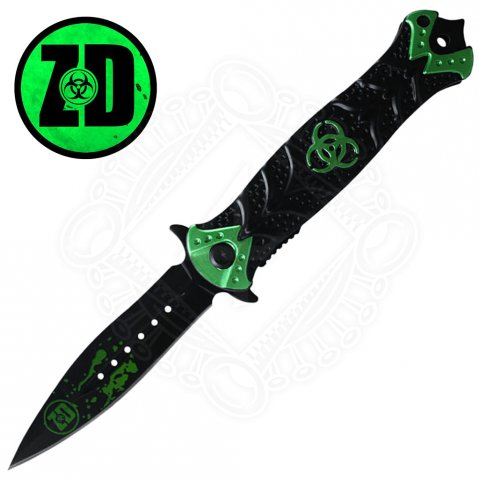 Zombie Dead Stiletto Pocket Knife