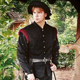Adventurer´s Doublet black