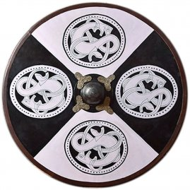 Viking Wooden Shield Norse griffon