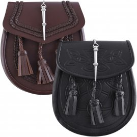 Sporran, Leather Kilt Purse