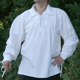 Late Medieval cotton shirt