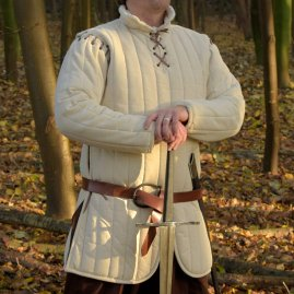 Long Gambeson with removable sleeves Ilbert