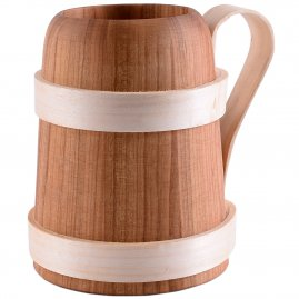Wooden Beer Mug 500 ml