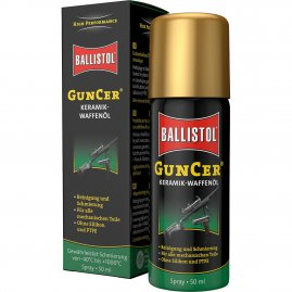 Ceramic gun oil Guncer 50 ml of Ballistol