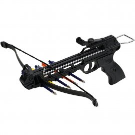 Crossbow Pistol 50lbs with metal frame