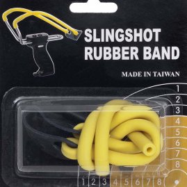 Spare sling rubber yellow