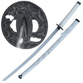 Katana White Dragon