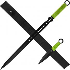 Zombie Dead Sword with throwing knives