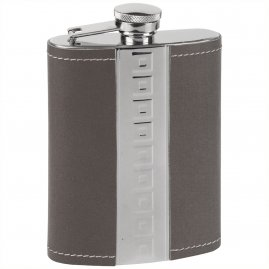Hip flasks with little squares