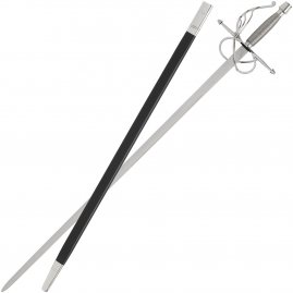 Rapier ca 1540 with scabbard