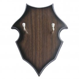 Shield-shaped sword plaque