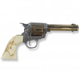 Revolver Colt 45 Peacemaker 27cm with fake ivory grip