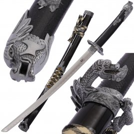 Black Snake Wakizashi with sheath