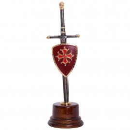 William Wallace Sword in wooden base - letter opener