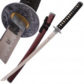 Wakizashi Yuto with sheath