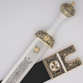 Gladiator sword with optional scabbard