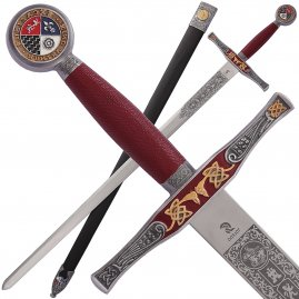 Sword Excalibur de Luxe with optional sheath