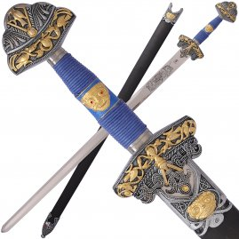 Odin sword decorated with optional sheath