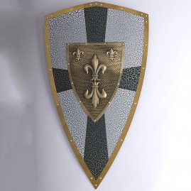 Decorated shield Richard the Lionheart