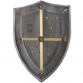 Shield The Cid 63x45cm with antiqued finish